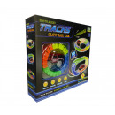Racetrack set flexible and glowing racetrack incl