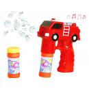Soap bubble gun Fire engine motive with two D