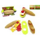 Burger Spielzeug zum Basteln aus Kunststoff, 15*4,