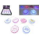 LED Blinkdeko for Baby Shower 8cm