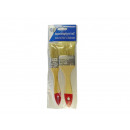 wholesale Painting Supplies: Paintbrush flat brush with wooden handle 1 and 2