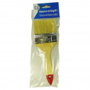 wholesale Painting Supplies: Paintbrush flat brush with wooden handle 3