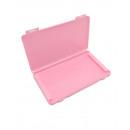 Storage box for masks pink