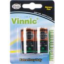 Vinnic batteries 2er Blister 1,5V