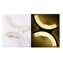Wall light design eclipse warm white wall led