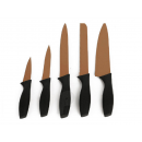 wholesale Knife Sets: Set of 5 stainless steel knives with lining