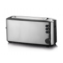 Stainless steel automatic toaster for 2 reb
