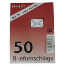 Großhandel Geschäftsausstattung: Briefumschläge C6, 50 Stück