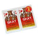 Großhandel Gesellschaftsspiele:Skatkarten 2er Pack