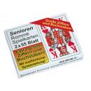 Großhandel Gesellschaftsspiele:-Senioren-Rommé Spielkartenset