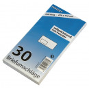 Großhandel Geschäftsausstattung:-Fenster Briefumschläge DL, 30er Pack