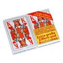 Großhandel Spielwaren:-Senioren-Skat Spielkarten, 2er Pack