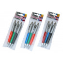 Großhandel Stifte & Schreibgeräte:Kugelschreiber, 3er Pack