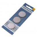 Großhandel Geschenkartikel & Papeterie: Edelstahl-Magnete, 3er Set