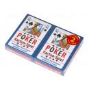 Großhandel Spielwaren:Pokerkarten 2er Set