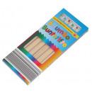 Großhandel Büromaterial:-Jumbo Dreiecksbuntstifte 6er Pack