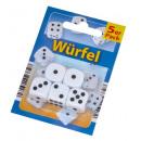 Großhandel Holzspielzeug:Würfel, 5er Pack