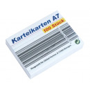 Großhandel Mappen & Ordner: Karteikarten A7, 100er Pack