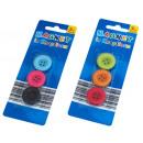 Großhandel Magnete:Magnete, Knopfdesign