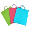 Großhandel Geschenkverpackung:Geschenktüte 'farbig'