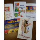 Großhandel Glückwunschkarten:Grußkarten, 5er Pack