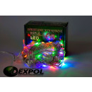 Icicles CHRISTMAS TREE LIGHTS BULB LED 100 MULTICO