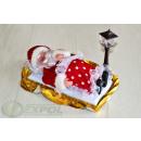 groothandel Windlichten & lantaarns: Kerstman met lantaarn X51