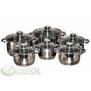 10 PIECES KIT, Pots, KINGHOFF, KH-4486