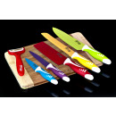 wholesale Knife Sets: KNIVES SW-006 6 OF MIX COLOR