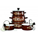 SET OF 5 PIECES, Pots, KINGHOFF, KH-3710