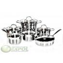 wholesale Pots & Pans: SET 12 PIECES, Pots, KH-4453