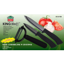 wholesale Knife Sets: CERAMIC KNIVES  INCLUDED, KINGHOFF, KH-5158