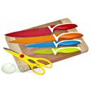 wholesale Knife Sets: SET 6 PIECES,  KITCHEN KNIVES, KINGHOFF, KH-5170