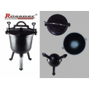 wholesale Barbecue & Accessories: POT ROASTED IRON  Rossner 15L with enamelled