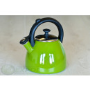 wholesale Kitchen Electrical Appliances: ENAMEL KETTLE  KH-3717 2.5L KINGHOFF MIX COLOR
