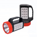 wholesale Flashlights: TORCH searchlight  1 + 12 LED ZOOM TS-1184