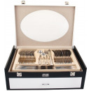 wholesale Cutlery: Cutlery 72  ELEMENTS ELEGANCE satin WOOD CASE
