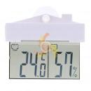 Großhandel Wetterstationen: Q91 Thermometer  Wetterstation in GLASS