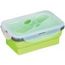 groothandel Lunchboxen & Drinkflessen: Klausberg vouwbare  siliconen lunchdoos 0,4L