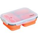 grossiste Boîtes à lunch et Biberons: Encadré 1.1 L  déjeuner en  silicone pliable ...
