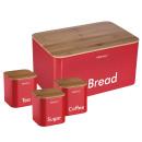 groothandel Opbergen & bewaren: KINGHOFF brood  container met een set van container
