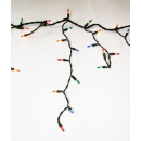 Icicles CHRISTMAS TREE LIGHTS 240 BULBS NOT MULTIC