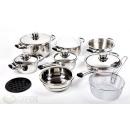wholesale Houshold & Kitchen: SET, 16 PIECES,  Pots, KINGHOFF, KH-4201