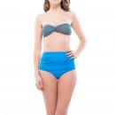ingrosso Moda bagno: Abbigliamento  Donna - Bikini blu Marli