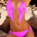 wholesale Swimwear: Women's  Clothing - Bikini Fuchsia Raine