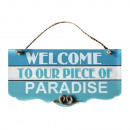 wholesale Garden & DIY store:HANGING MEDIANO WELCOME