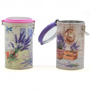 TIN POT REDONDO high kick LAVENDER