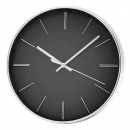 GREY 30CM ROUND CLOCK WITHOUT NUMBER