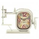 DESKTOP orologio bianco MACCHINA PER CUCIRE