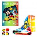 Decke Coralina  95X150 Mickey HIGH SCORE